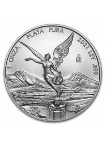 Mexiko 2021  Libertad Silber 1 oz