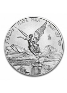 Mexiko 2021 Libertad Silber 2 oz