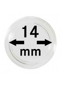 MÜNZKAPSELN  INNEN-Ø   14 mm    10er Packung