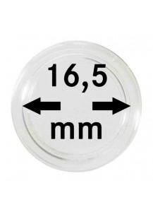 MÜNZKAPSELN  INNEN-Ø   16,5 mm    10er Packung
