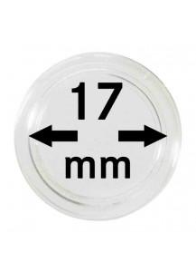 MÜNZKAPSELN  INNEN-Ø   17 mm    10er Packung