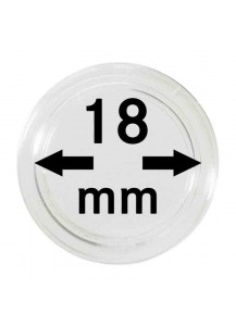 MÜNZKAPSELN  INNEN-Ø   18 mm    10er Packung