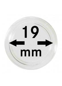 MÜNZKAPSELN  INNEN-Ø   19 mm    10er Packung