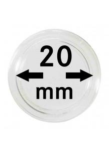 MÜNZKAPSELN  INNEN-Ø   20 mm    10er Packung