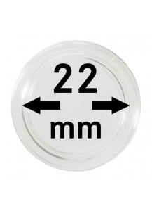 MÜNZKAPSELN  INNEN-Ø   22 mm    10er Packung