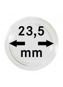MÜNZKAPSELN  INNEN-Ø   23,5 mm    10er Packung