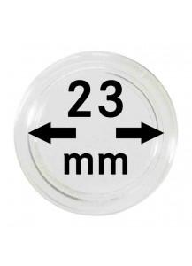 MÜNZKAPSELN  INNEN-Ø   23 mm    10er Packung