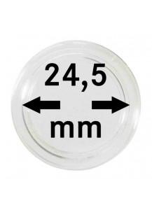 MÜNZKAPSELN  INNEN-Ø   24,5 mm    10er Packung