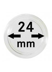 MÜNZKAPSELN  INNEN-Ø   24 mm    10er Packung