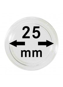 MÜNZKAPSELN  INNEN-Ø   25 mm    10er Packung