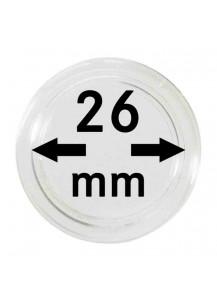 MÜNZKAPSELN  INNEN-Ø   26 mm    10er Packung