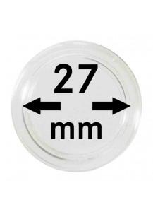 MÜNZKAPSELN  INNEN-Ø   27 mm    10er Packung