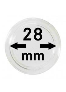 MÜNZKAPSELN  INNEN-Ø   28 mm    10er Packung