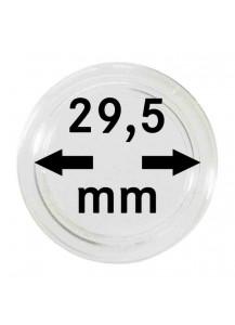 MÜNZKAPSELN  INNEN-Ø   29,5 mm    10er Packung