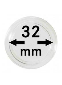 MÜNZKAPSELN  INNEN-Ø   32 mm    10er Packung