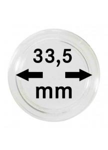 MÜNZKAPSELN  INNEN-Ø   33,5 mm    10er Packung