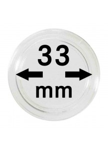 MÜNZKAPSELN  INNEN-Ø   33 mm    10er Packung