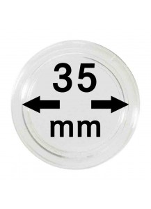 MÜNZKAPSELN  INNEN-Ø   35 mm    10er Packung