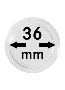 MÜNZKAPSELN  INNEN-Ø   36 mm    10er Packung