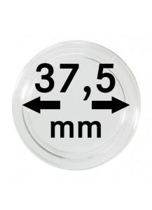 MÜNZKAPSELN  INNEN-Ø   37,5 mm    10er Packung