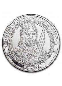 Neuseeland 2021 BOROMIR - Herr der Ringe Silber 1 oz