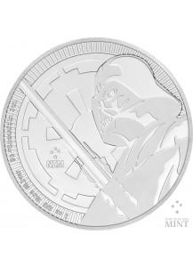 Niue 2018 Darth Vader mit Lichtschwert Silber 1 oz