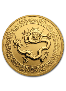 Niue 2019  Celestial Animals The  Green Dragon - Grüner Drache Gold 1 oz