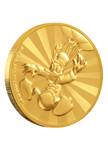 NIUE 2019  DONALD DUCK - Serie Mickey Mouse & Friends Gold 1/4  oz  Auflage 100 Stück