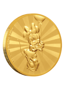 NIUE 2019  MINNEY MOUSE - Serie Mickey Mouse & Friends Gold 1/4  oz  Auflage 100 Stück