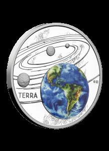 Niue 2019  Die Erde - Serie Sonnensystem Silber 1 oz