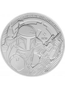 Niue 2020  BOBA FETT  - Star wars  Silber 1 oz