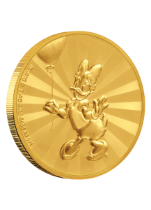 NIUE 2020 DAISY DUCK - Serie Mickey Mouse & Friends Gold 1/4  oz  Auflage 100 Stück
