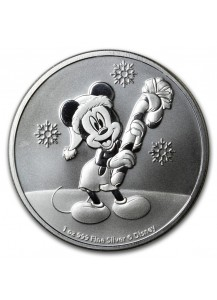 Niue 2020  Mickey Christmas Silber 1 oz