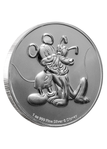Niue 2020 Mickey & Pluto Silber 1 oz