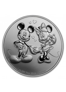 Niue 2020 Mickey & Minnie Mouse Silber 1 oz