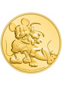 NIUE 2020  PLUTO 90. Geburtstag - Gold 1/4  oz  Auflage 100 Stück