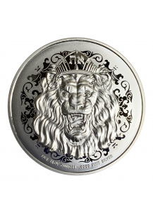 Niue 2020  Roaring Lion  Truth Serie Silber 5 oz