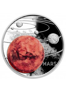 Niue 2020  Der Mars - Serie Sonnensystem Silber 1 oz