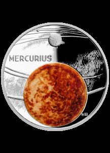 Niue 2020  Der Merkur - Serie Sonnensystem Silber 1 oz