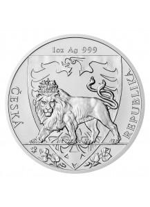 Niue 2020  Tschechischer Löwe Silber 1 oz