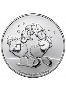 Niue 2021  Donald & Daisy   Silber 1 oz