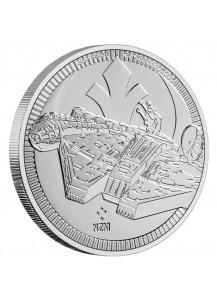 Niue 2021 Millenium Falcon - Star Wars Silber 1 oz