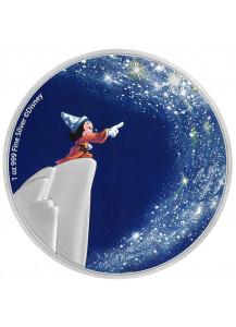 Niue 2020  Der Zauberlehrling  - 80 Jahre Fantasia  Silber 1 oz