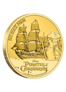 Niue 2021 The Black Pearl - Fluch der Karibik Gold 1 oz