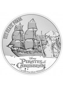 Niue 2021 The Black Pearl - Fluch der Karibik Silber 1 oz