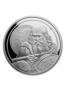 Niue 2021    Icons of Inspiration - Galileo  Silber 1 oz