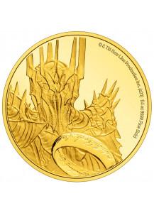 NIUE 2021  HERR DER RINGE - Sauron Gold 1/4 oz