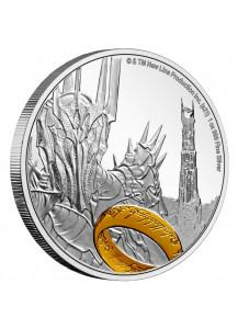 NIUE 2021  HERR DER RINGE - Sauron Silber 1 oz
