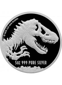 Niue 2021  JURASSIC PARK  World Movie  Silber 5 oz