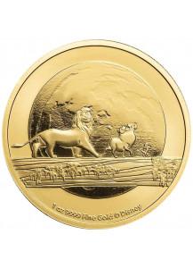 Niue 2021  Disney HAKUNA MATATA -  König der Löwen Gold 1 oz